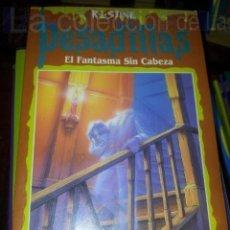 Livres d'occasion: PESADILLAS-EL FANTASMA SIN CABEZA Nº36 AÑO 1994. Lote 43192682