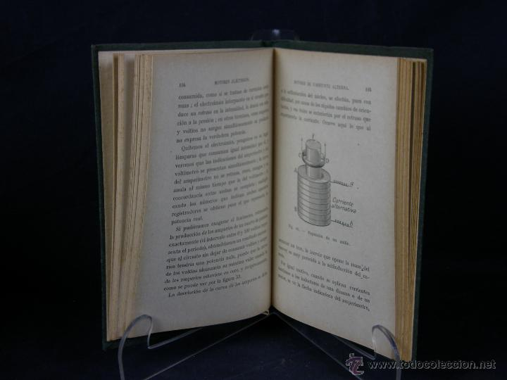 Libros de segunda mano: nueva biblioteca de utilidad práctica Motores eléctricos A. Soulier Garnier hermanos Paris - Foto 4 - 43214204