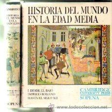 Libros de segunda mano: HISTORIA DEL MUNDO EN LA EDAD MEDIA. 2 TOMOS. A-RASOP-149. Lote 43240814