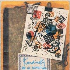 Livros em segunda mão: DE LO ESPIRITUAL EN EL ARTE. Lote 43259124