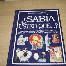 Libros de segunda mano: ¿ SABIA USTED QUE...? DE READER´S DIGEST. Lote 43260576