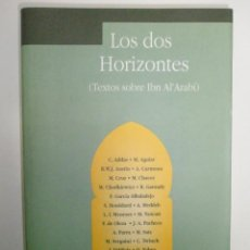 Libros de segunda mano: VV.AA.: LOS DOS HORIZONTES . Lote 43272935
