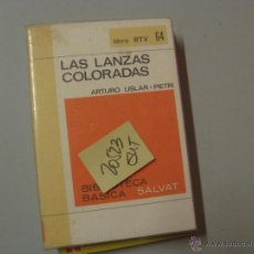 Libros de segunda mano: LAS LANZAS COLORADASARTURO USLAR PIETRI2 €. Lote 43296724