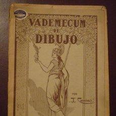 Libros de segunda mano: VADEMECUM DE DIBUJO - ARBOLES Y ARBUSTOS II - J. CAMINS. Lote 194507531