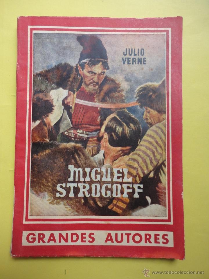 JULIO VERNE. MIGUEL STROGOFF (Libros de Segunda Mano (posteriores a 1936) - Literatura - Otros)