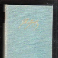 Libros de segunda mano: GOETHE. HISTORIA DE UN HOMBRE POR EMIL LUDWIG. 2º EDICION. EDITORIAL JUVENTUD, 1965.. Lote 43393217