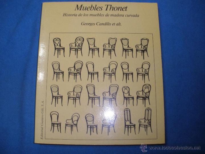Muebles thonet historia de los muebles de made comprar for Libros de muebles de madera