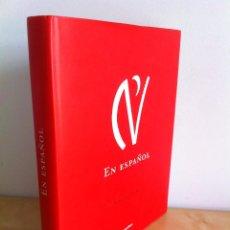 Libros de segunda mano: EN ESPAÑOL. ILUSTRACIONES DE EDUARDO ARROYO. GRUPO SANTILLANA. -----------3ª COMPRA ENVÍO GRATIS----. Lote 43476799