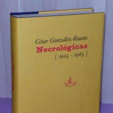 Libros de segunda mano: NECROLOGICAS (1925-1965).. Lote 43506048