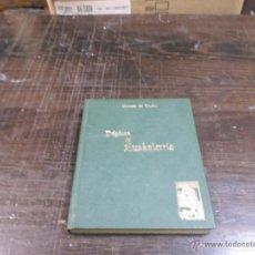 Libros de segunda mano: ANTONIO TRUEBA, PAGINAS DE EUSKALHERRIA, COLECC.IBAIZABAL, BIBLIOTECA VASCONGADA VILLAR,1967. Lote 43522602