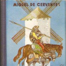 Libros de segunda mano: DON QUIJOTE DE LA MANCHA PARA USO DE LOS NIÑOS - MIGUEL DE CERVANTES - EDT. HERNANDO S.A. - 1961. Lote 112347272