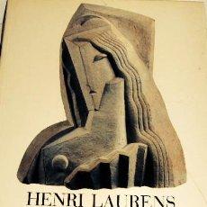 Libros de segunda mano: HENRI LAURENS 1885 - 1954. ESCULTURES I DIBUIXOS. Lote 43567621