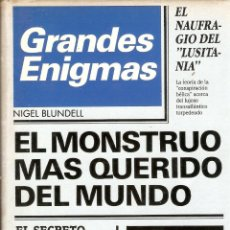 Libros de segunda mano: GRANDES ENIGMAS - NIGEL BLUNDELL- CIRCULO DE LECTORES - 1984. Lote 47691312