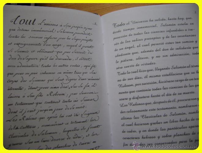 Clav culas de salom n libro de conjuros y f rm comprar for Conjuros de salomon