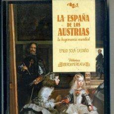 Libros de segunda mano: SOLA CASTAÑO : LA ESPAÑA DE LOS AUSTRIAS (IBEROAMERICANA ANAYA, 1988). Lote 43624988