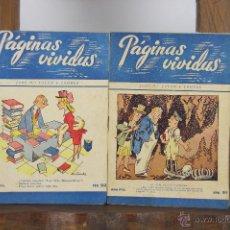 Libros de segunda mano: 4711- PAGINAS VIVIDAS. JOSE Mº FOLCH Y TORRES. 142 NUMEROS. EDIT. MIVA. 1940. . Lote 43658343