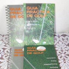 Libros de segunda mano: GUIA PRACTICA DEL GOLF.-2VOL.--JÖRG VANDEN BERGE. Lote 192118790