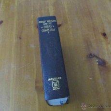 Libros de segunda mano: GOETHE . OBRAS COMPLETAS .AGUILAR. Lote 43751786