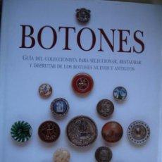 Libros de segunda mano: COLECIONISMO DE BOTONES.NANCY FINK.80 PG FOLIO ILUSTRADO. Lote 57055380