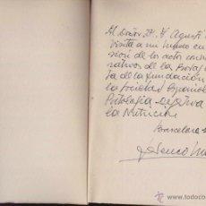 Libros de segunda mano: GUIA MUSEO FREDERIC MARES, AÑO 1958,FIRMA Y DEDICATORIA ESCULTOR,ARTE Y ESCULTURA,AMIGO PICASSO,DALI. Lote 43810784
