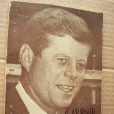 Libros de segunda mano: EL ASESINATO DE KENNEDY EN TODOS SUS DETALLES. 1963. 79 PP.. Lote 43827296