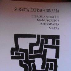 Libros de segunda mano: SOLER Y LLACH – SUBASTA DE LIBROS ANTIGUOS MAPAS Y GRABADOS – JULIO 2007. Lote 43831728