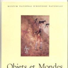 Libros de segunda mano: OBJETS ET MONDES, TOME II, FASC. 4; HIVER 1962. LA REVUE DU MUSÉE DE L'HOMME (ANTROPOLOGÍA).. Lote 43884441