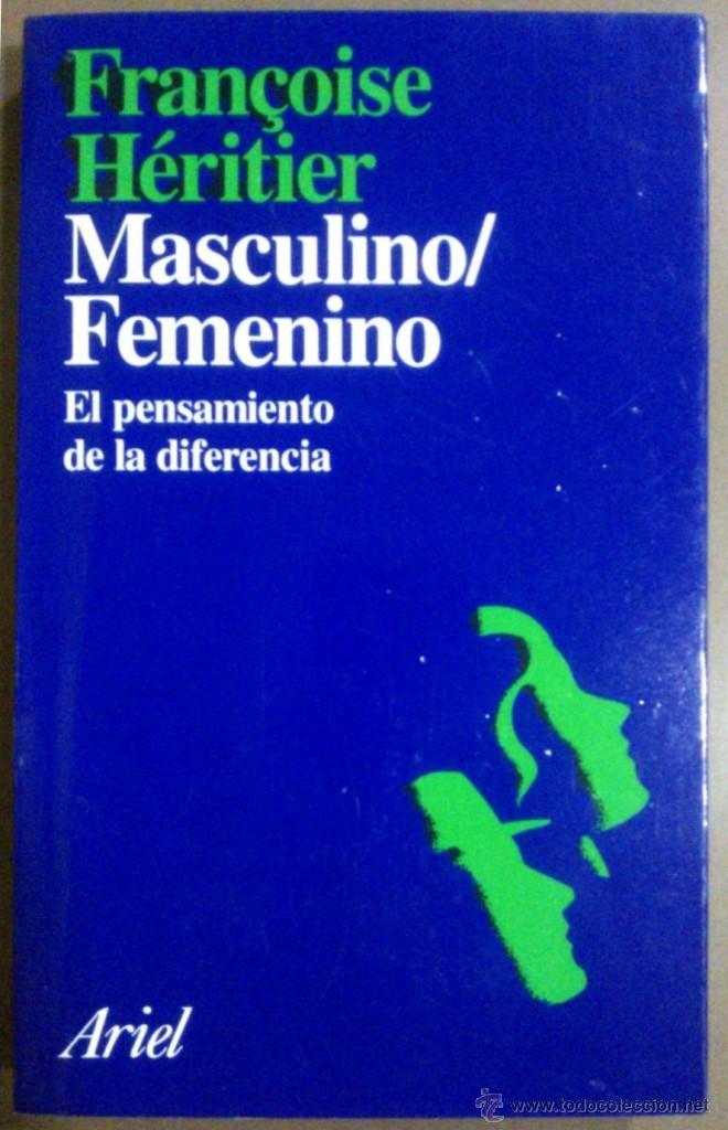 Resultado de imagen de francoise Heritier masculino femenino