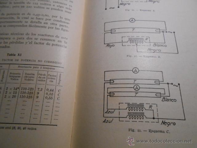 Libros de segunda mano: MANUAL DEL INSTALADOR DE ALUMBRADO FLUORESCENTE. 1950 - Foto 3 - 43995549