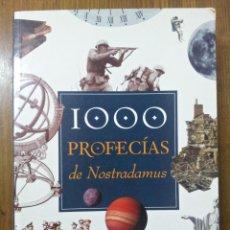 Libros de segunda mano: LAS 1000 PROFECÍAS DE NOSTRADAMUS. J. DE LA RÚA-DECKNAME. Lote 44009304