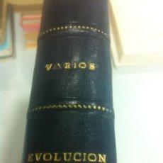 Libros de segunda mano: EVOLUCIÓN - VARIOS - CONJUNTO DE 6 LIBROS SOBRE LA EVOLUCIÓN HUMANA - EUDEBA - ARGENTINA - 1965 -. Lote 44010506