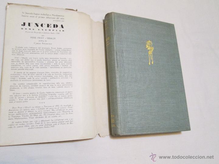 Libros de segunda mano: JUNCEDA HOME EXEMPLAR - PERE PRAT I UBACH - 1957 - Foto 2 - 44021866