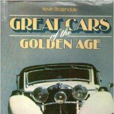 Libros de segunda mano: GREAT CARS OF THE GOLDEN AGE. Lote 44053759