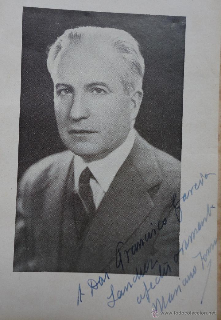 Libros de segunda mano: SOLEÁ. MARIANO TOMÁS. 1943. DEDICATORIA AUTÓGRAFA DEL AUTOR - Foto 2 - 44073245