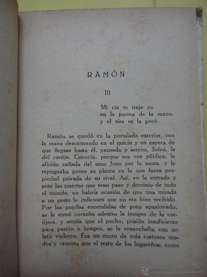 Libros de segunda mano: SOLEÁ. MARIANO TOMÁS. 1943. DEDICATORIA AUTÓGRAFA DEL AUTOR - Foto 4 - 44073245