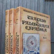 Second hand books - TRATADO DE PALEOGRAFIA ESPAÑOLA. AGUSTIN MILLARES CARLO. ESPASA CALPE - 44075710