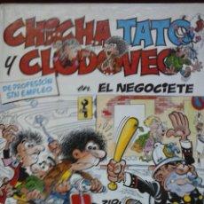Libros de segunda mano: LIBRO CHICHA TATO Y CLODOVEO EN EL NEGOCIANTE. Lote 44076893