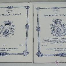 Libros de segunda mano: REVISTA DE HISTORIA NAVAL. 1999. Nº 64 Y Nº EXTRA. INSTITUTO DE HISTORIA Y CULTURA NAVAL .. Lote 44095380