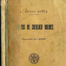 Libros de segunda mano: CONAN DOYLE : TRIUNFOS DE SHERLOCK HOLMES (SOPENA). Lote 44106009