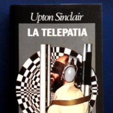 Libros de segunda mano: LA TELEPATÍA - UPON SINCLAIR - EDITORIAL CARALT . Lote 44113637