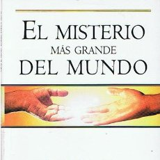 Libros de segunda mano: EL MISTERIO MÁS GRANDE DEL MUNDO OG MANDINO . Lote 44135801