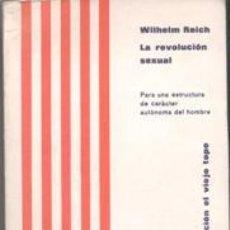 Libros de segunda mano: LA REVOLUCIÓN SEXUAL, WILHELM REICH. Lote 44136580