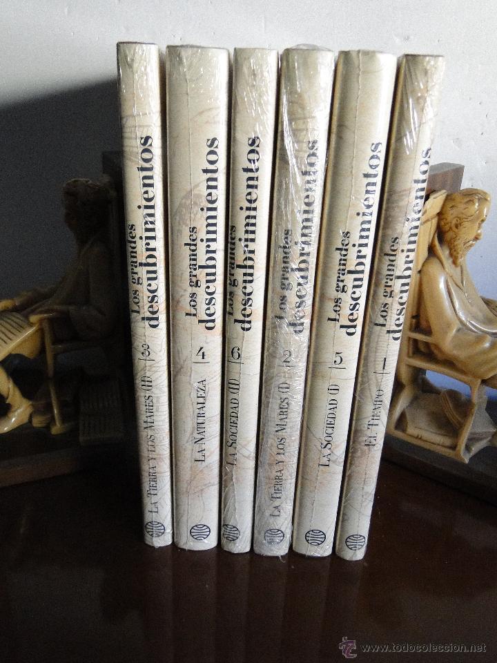 LOS GRANDES DESCUBRIMIENTOS (6 VOLS.OBRA COMPLETA) .-- BOORSTIN, DANIEL J. (Libros de Segunda Mano - Historia - Otros)
