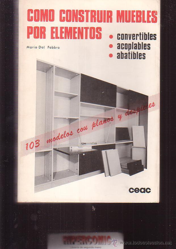 cómo construir muebles por elementos, 103 model - Comprar en ...