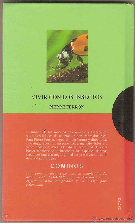 VIVIR CON LOS INSECTOS - PIERRE FERRON (Libros de Segunda Mano - Ciencias, Manuales y Oficios - Otros)