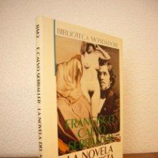 Libros de segunda mano: FRANCISCO CALVO SERRALLER: LA NOVELA DEL ARTISTA (MONDADORI, 1990) COMO NUEVO. Lote 44224040