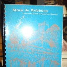 Libros de segunda mano: MORA DE RUBIELOS. PROGRAMA DE FIESTAS 1979-80. Lote 44238792