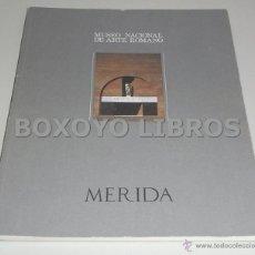 Libros de segunda mano: MUSEO NACIONAL DE ARTE ROMANO. MÉRIDA. Lote 44249905