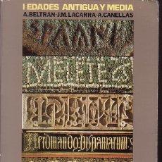 Libros de segunda mano: HISTORIA DE ZARAGOZA , EDAD MODERNA, EDADES ANTIGUA Y MEDIA / FERNANDO SOLANO, BELTRAN.. 2 TOMOS. Lote 44272878