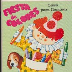 Libros de segunda mano: FIESTA DE COLORES. LIBRO PARA ILUMINAR. (28X21 CM) 48 PÁGINAS. ENTRETENLIBRO-MÉXICO.. Lote 44299575